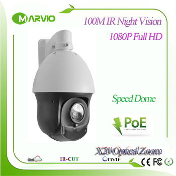 4-inch Mini 2MP Full HD 1080 P IP Speed Dome PTZ Network Kamera POE Sony Iyi IR Gece Görüş 150 m 20X Optik Zoom Lens 4.7-94mm