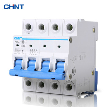 CHINT Air Switch NBE7 4P 32A Miniature Circuit Breaker Air Switch Air Protector